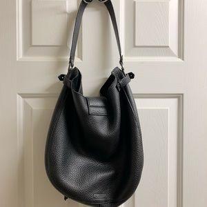 Rebecca Minkoff Bags - Rebecca Minkoff black leather hobo
